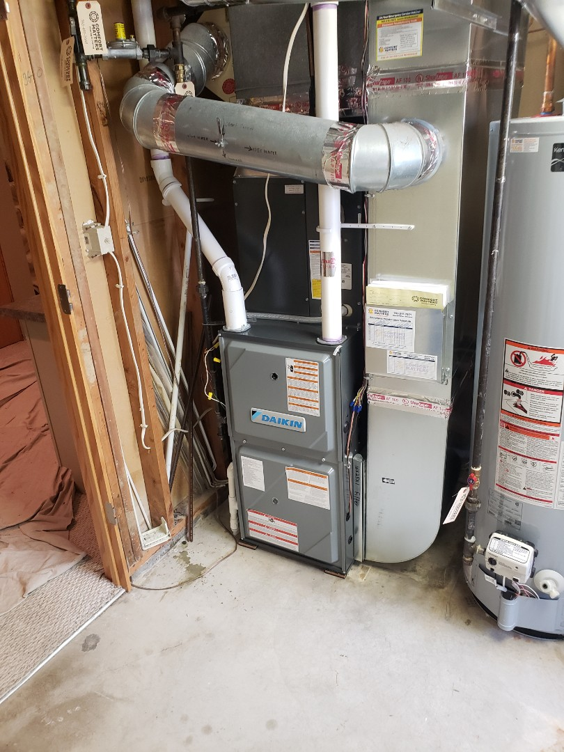 Maple Grove, MN - Install furnace and air conditioner