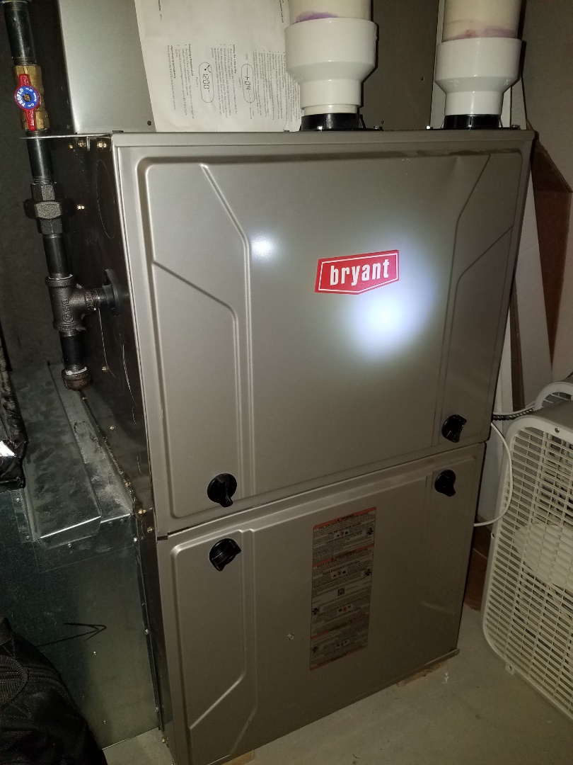 Plymouth, MN - AC and furnace tune up on Bryant system in Plymouth