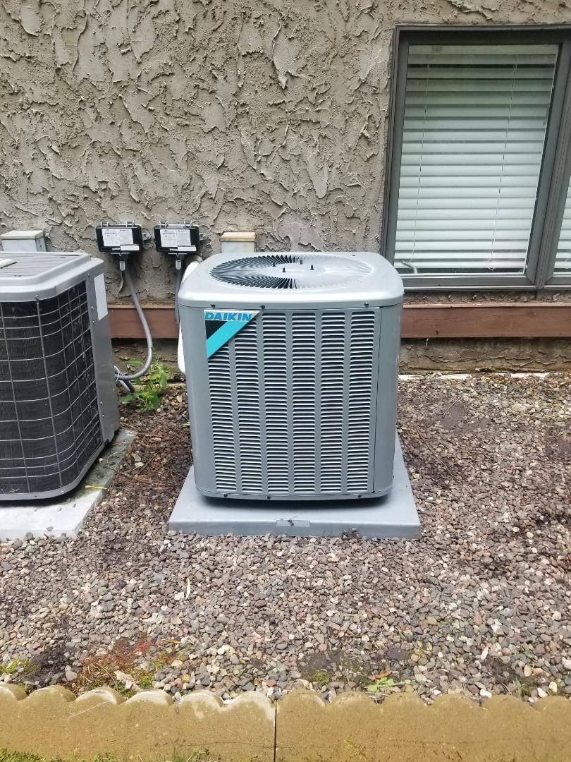 Long Lake, MN - Daikin AC install
