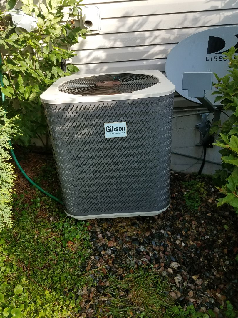 Elk River, MN - AC tune up and clean on Gibson unit in Elk River