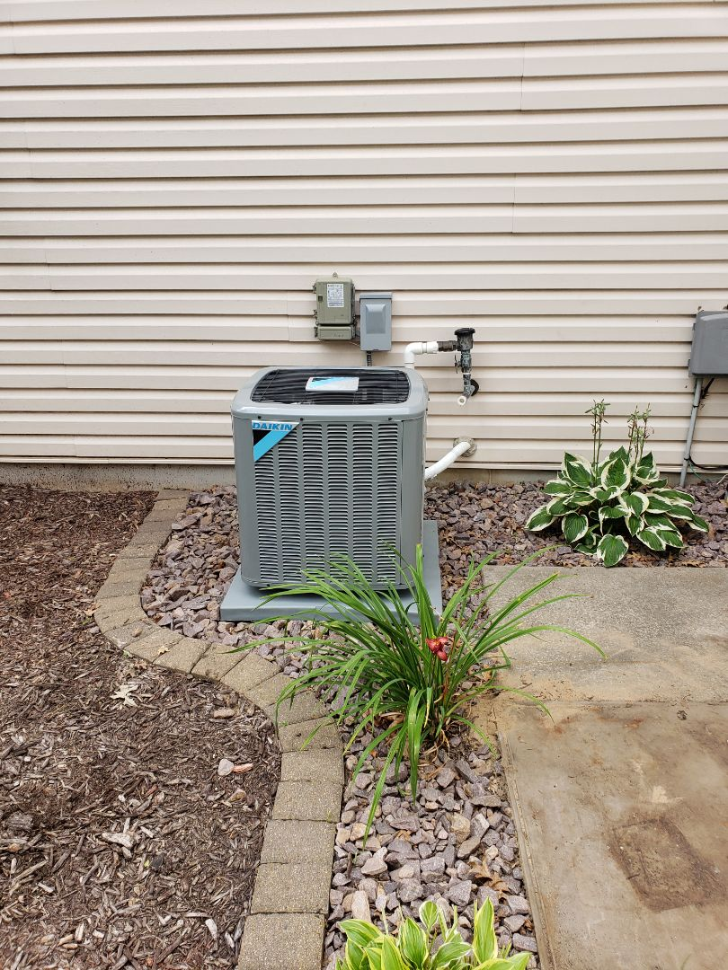 Elk River, MN - Installed a new furnace and ac