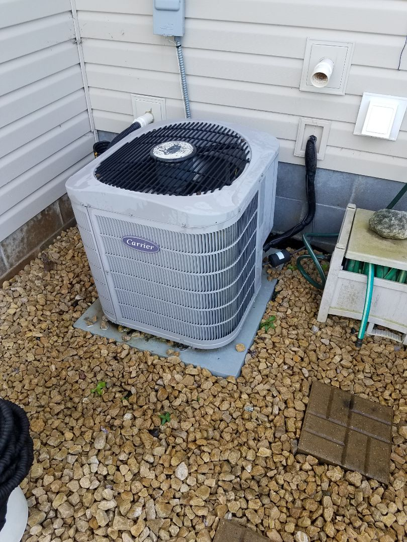 Hanover, MN - AC tune up and clean on carrier unit in Hanover