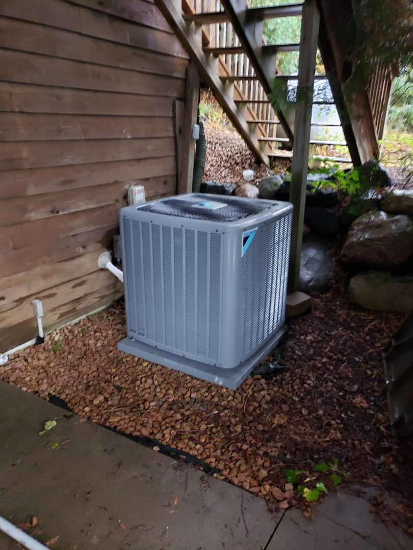 Loretto, MN - Installed a new AC