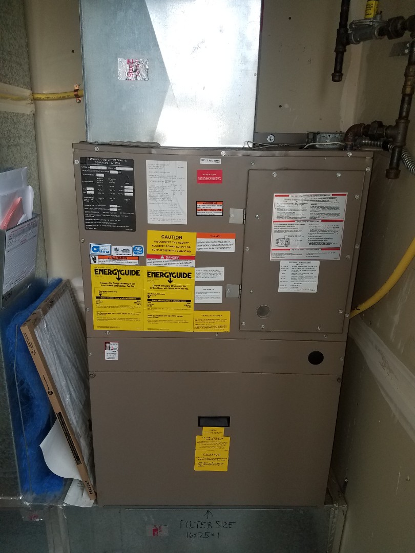 Osseo, MN - Furnace maintenance. Changed a gas valve on a comfort pack furnace