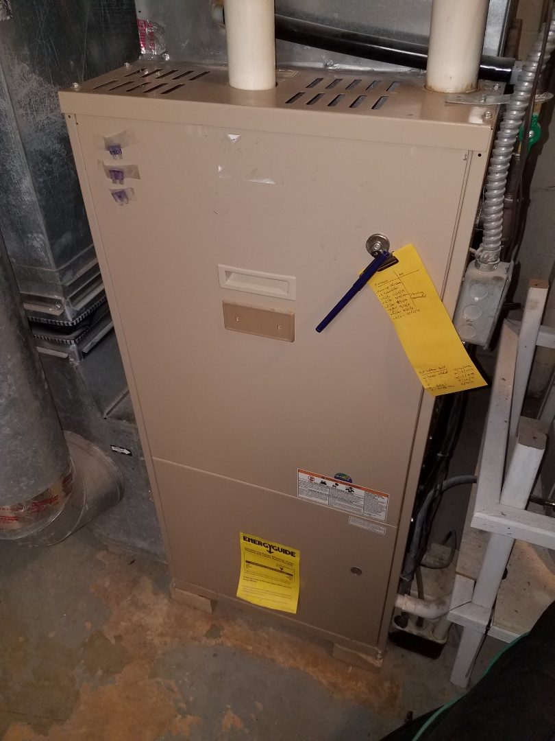 Independence, MN - Found furnace venting blocked by rodent nest, clear obstructions and performed a furnace tune up and cleaning on Coleman furnace in Independence