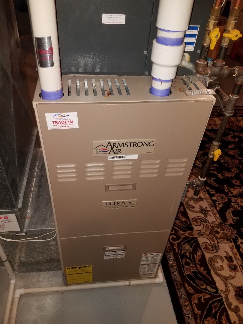 Osseo, MN - Heating maintenance. Performed cleaning and tune up on a Armstrong Air furnace. Performed tune up and cleaning on a Comfort Matters whole home humidifier.