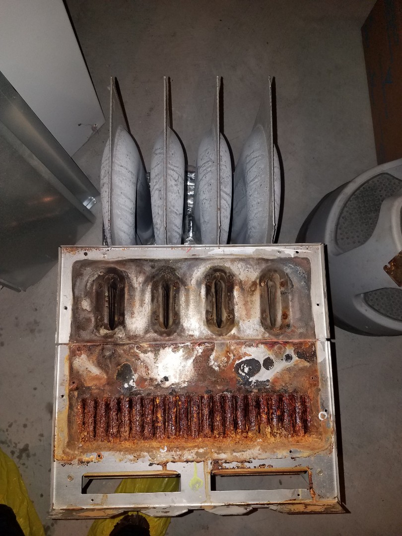 Ramsey, MN - Replaced failed heat exchanger on Payne furnace in Ramsey