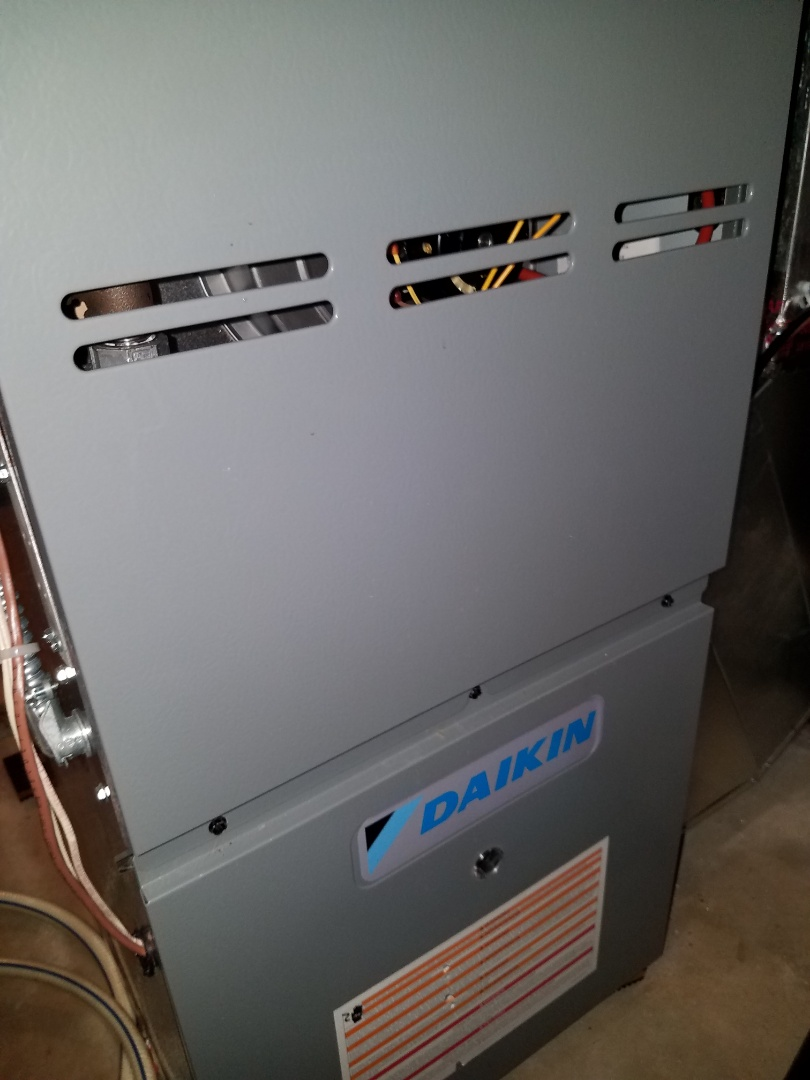 Otsego, MN - Furnace tune up and clean on Daikin unit in Otsego