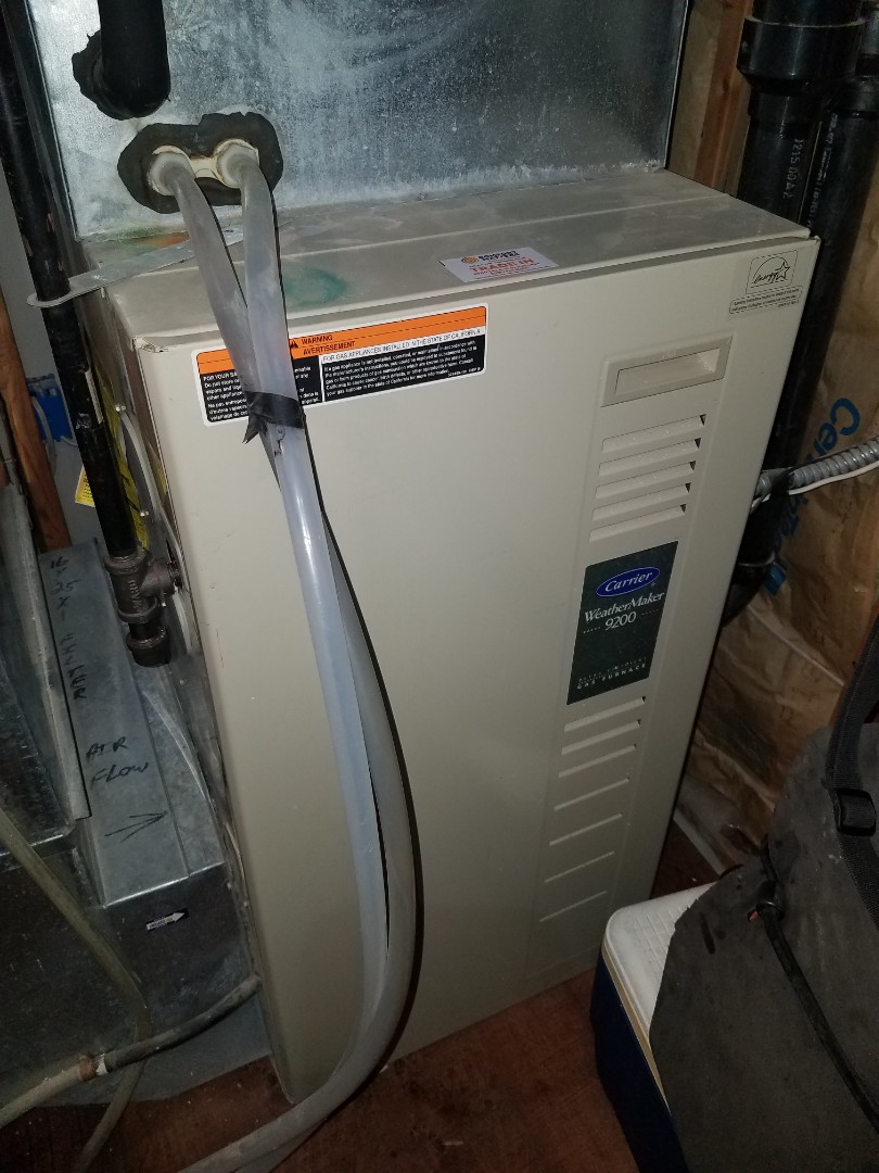 Loretto, MN - Furnace tune up and clean on Carrier unit in Orono