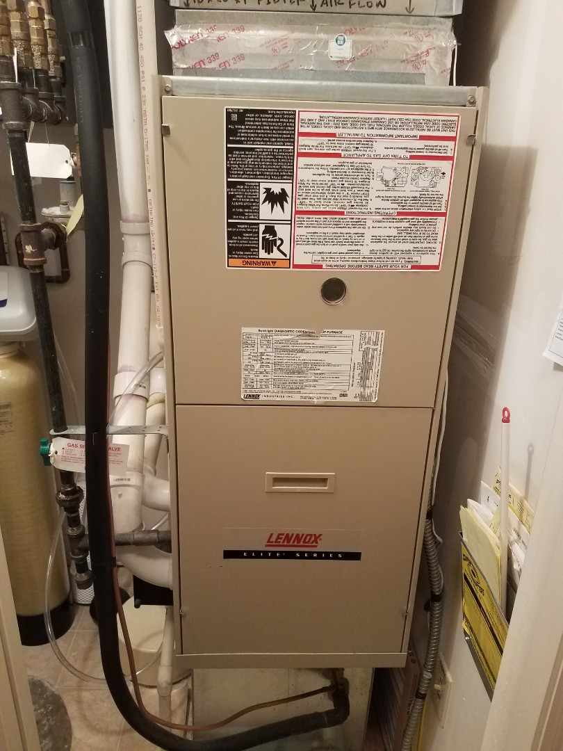 Saint Michael, MN - Heating maintenance. performed cleaning and tune up on a Lennox furnace.