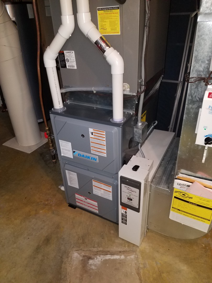 Buffalo, MN - Furnace tune up and clean on Daiking unit in Monticello