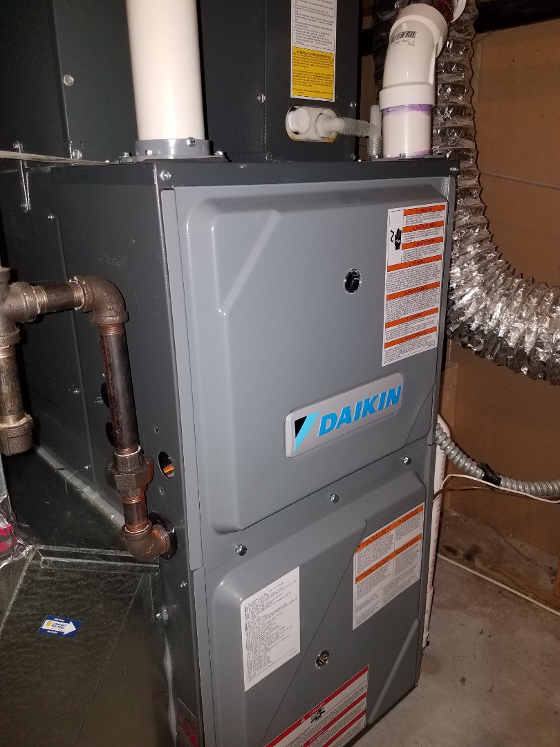 Saint Michael, MN - Furnace tune up and clean on daikin unit in St. Michael