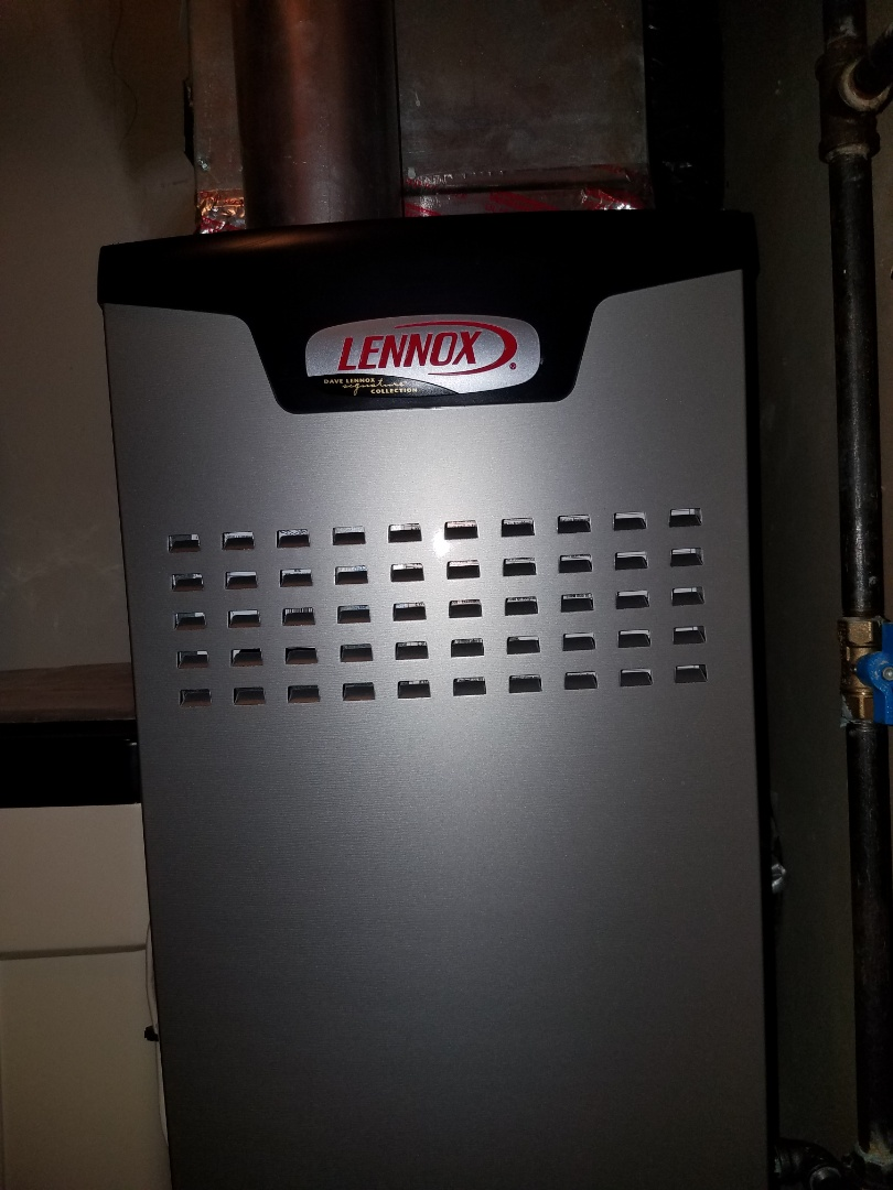 Saint Michael, MN - Furnace tune up and clean on Lennox unit in St. Michael