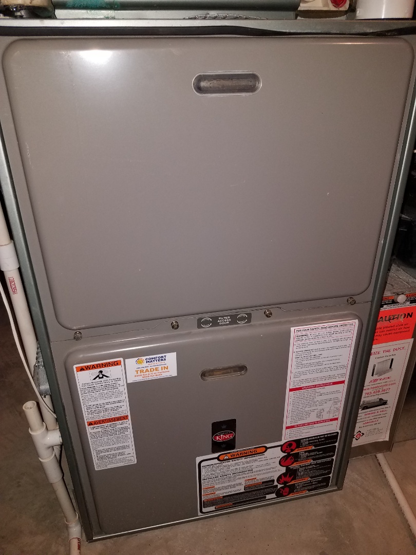 Hanover, MN - Replaced failed ignition control assembly on Weather King furnace in Maple Grove