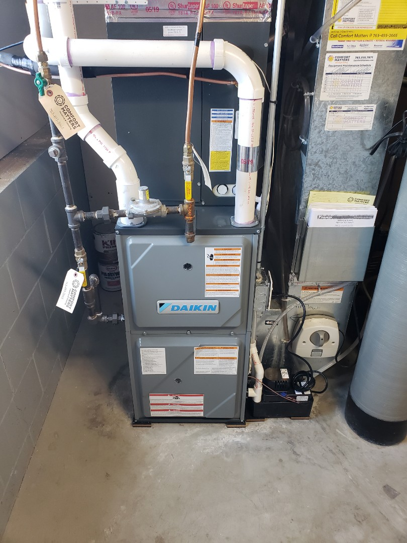 Monticello, MN - Install a new system