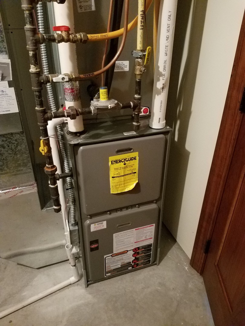 Otsego, MN - Replaced failed blower motor on Weather king unit in Otsego