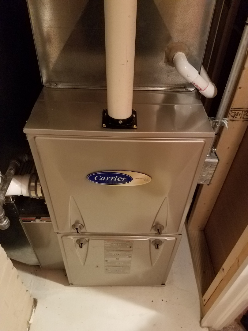 Otsego, MN - Furnace tune up and clean on carrier unit in St. Michael