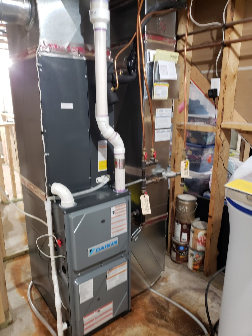 Plymouth, MN - New furnace install