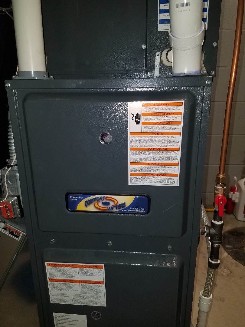 Hanover, MN - Furnace tune up and clean on Goodman unit in Hanover