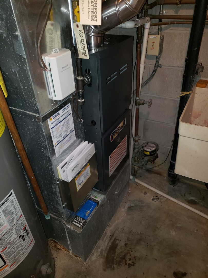 Osseo, MN - Install furnace