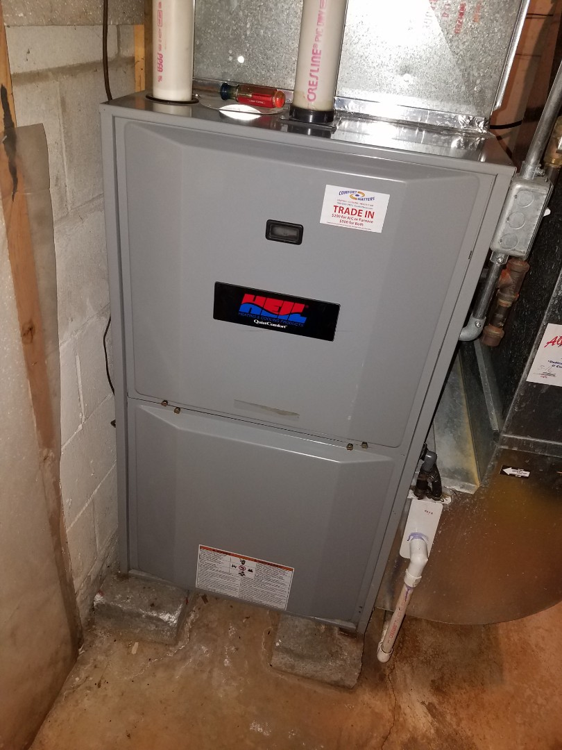 Rogers, MN - Furnace tune up and clean on Heil unit in Corcoran