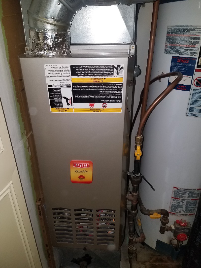 Saint Michael, MN - Furnace tune up and clean on Bryant unit in Plymouth