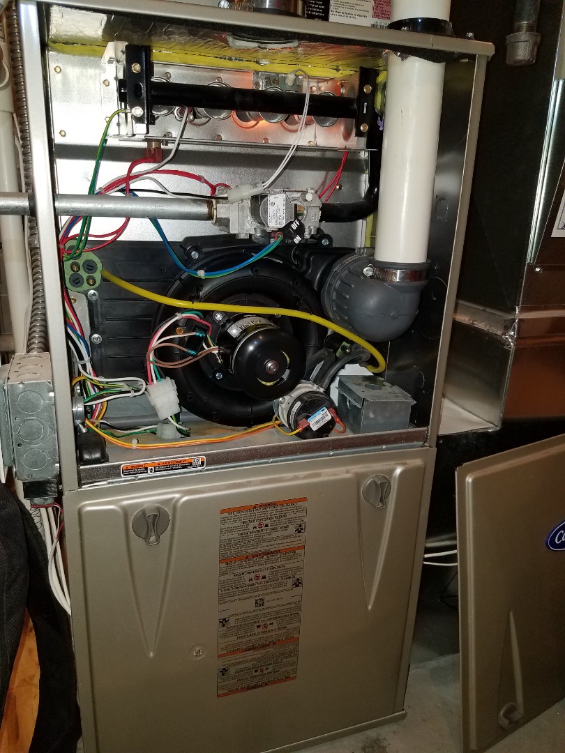 Saint Michael, MN - Replaced failing inducer motor on Bryant furnace in St. Michael