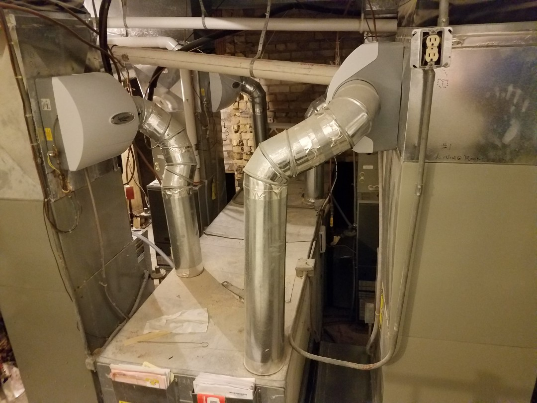 Wayzata, MN - 4 furnace tune up and cleanings on Trane units in Wayzata