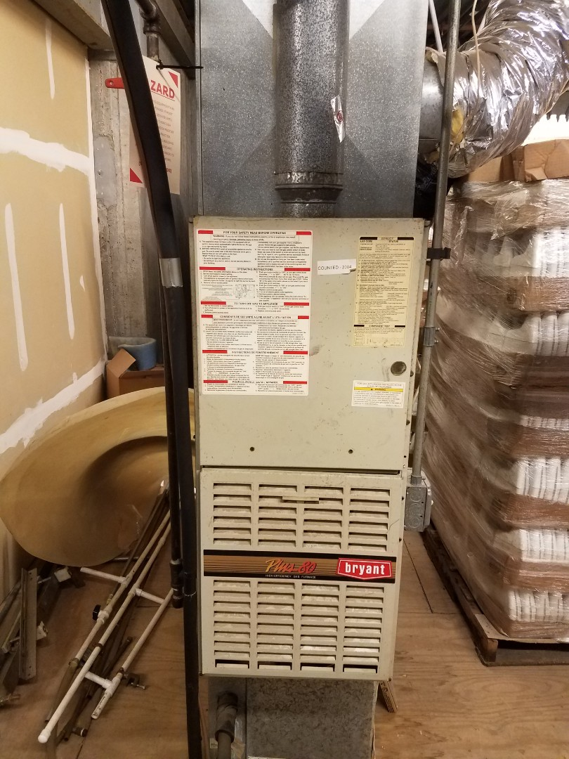 Anoka, MN - Furnace maintenance. Diagnosed a Bryant furnace.