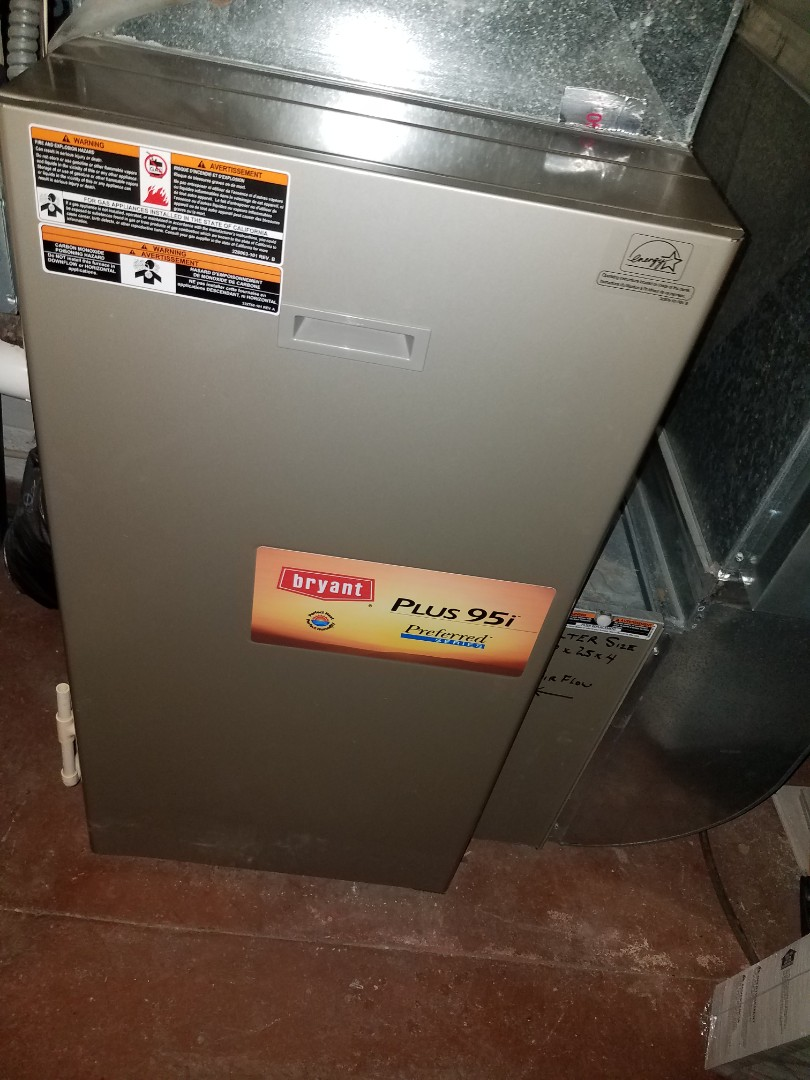 Wayzata, MN - Heating maintenance. Performed cleaning and tune up on a Bryant furnace.
