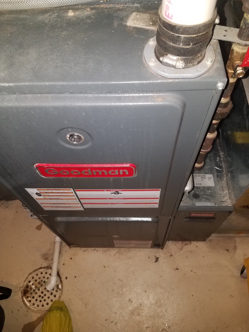 Otsego, MN - Furnace tune up and clean  on Goodman unit in New Hope