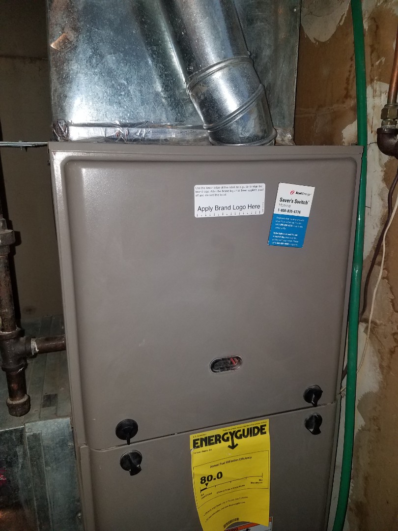 Andover, MN - Furnace tune up and clean on York unit in Mound