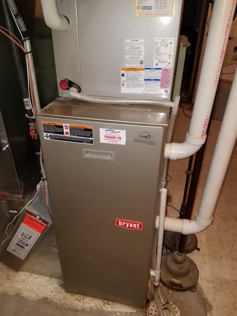 Andover, MN - Furnace tune up and clean on Bryant unit in Rockford