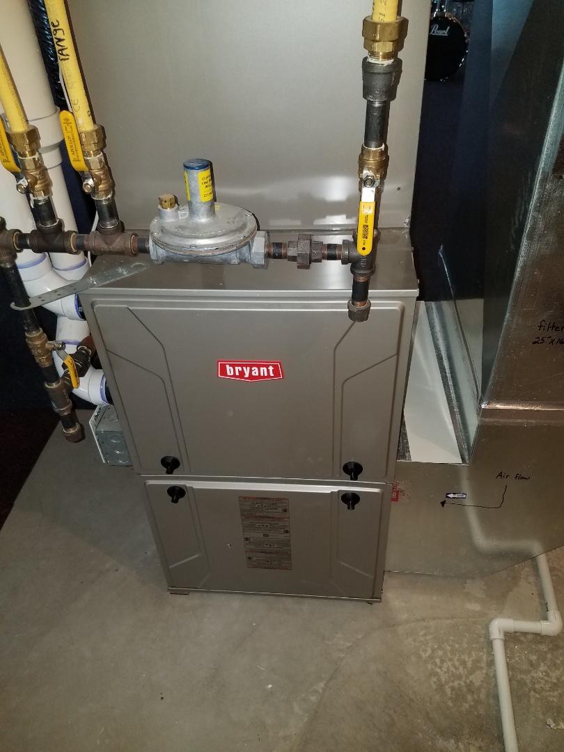Medina, MN - Furnace maintenance. Diagnosed a Bryant furnace.