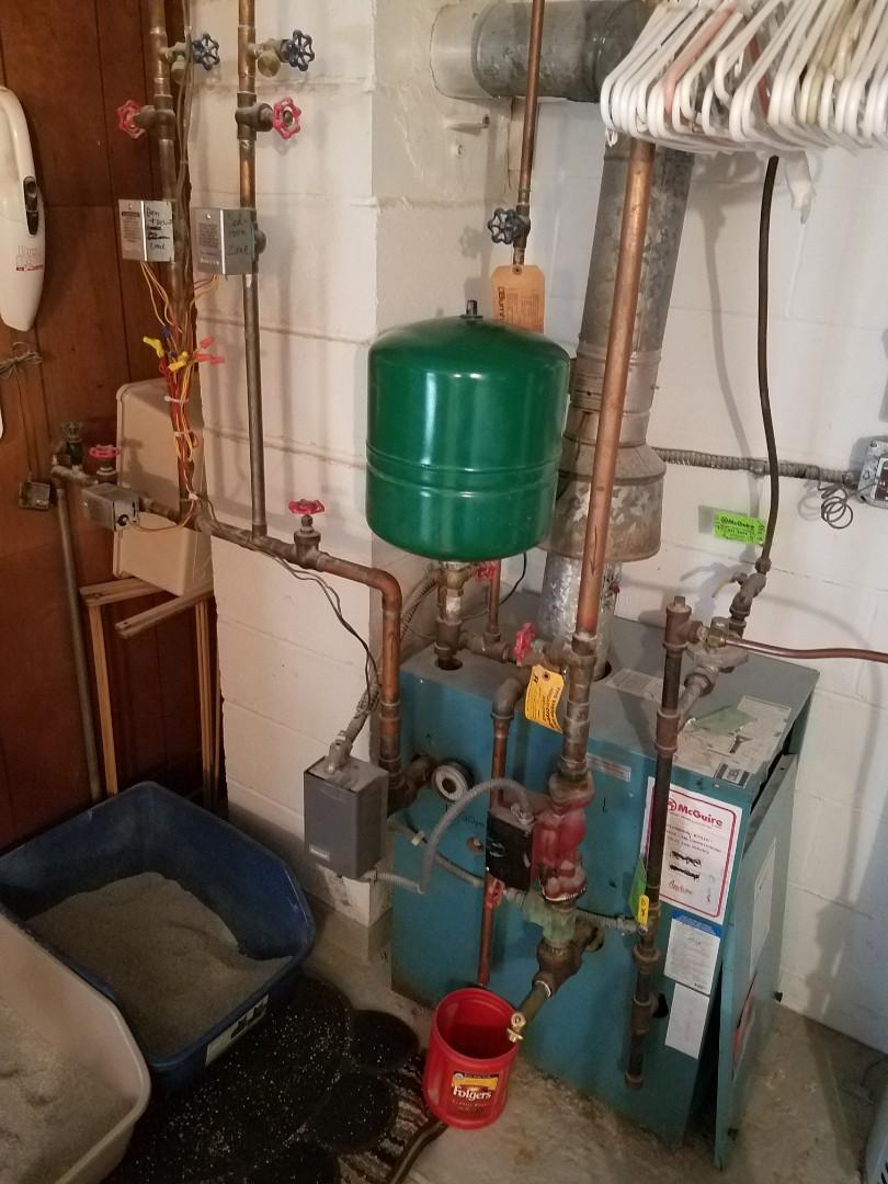 Rockford, MN - Boiler maintenance. Diagnosed a failed zone valve on a Burnham boiler.