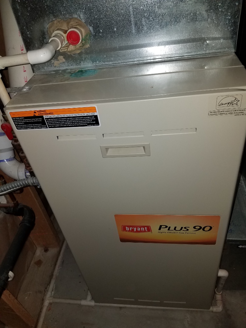 Osseo, MN - Furnace maintenance. Diagnosed a Bryant furnace. Replaced failed blower motor. Performed tune up and cleaning.