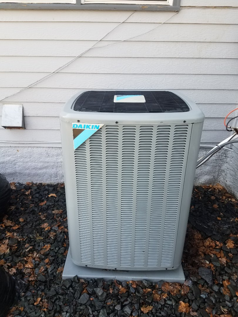 Plymouth, MN - Ac maintenance. Performed cleaning and tune up on a Daikin AC.
