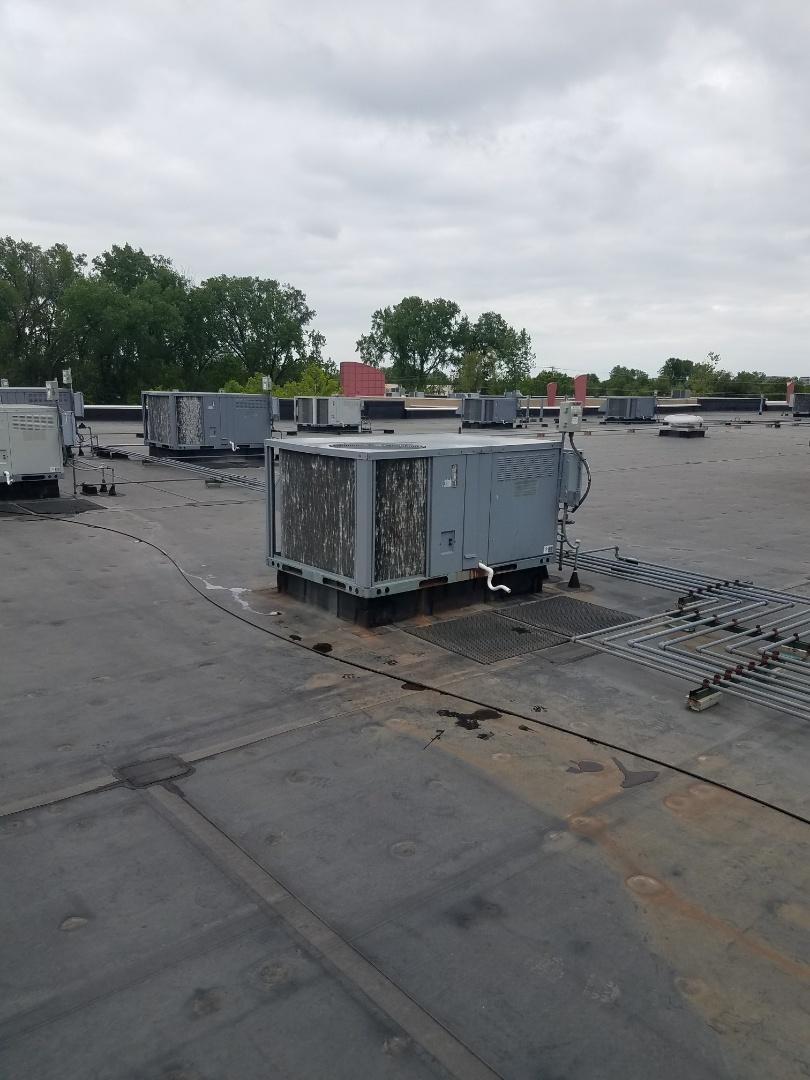 Hopkins, MN - RTU maintenance. Diagnosed a ICP RTU.