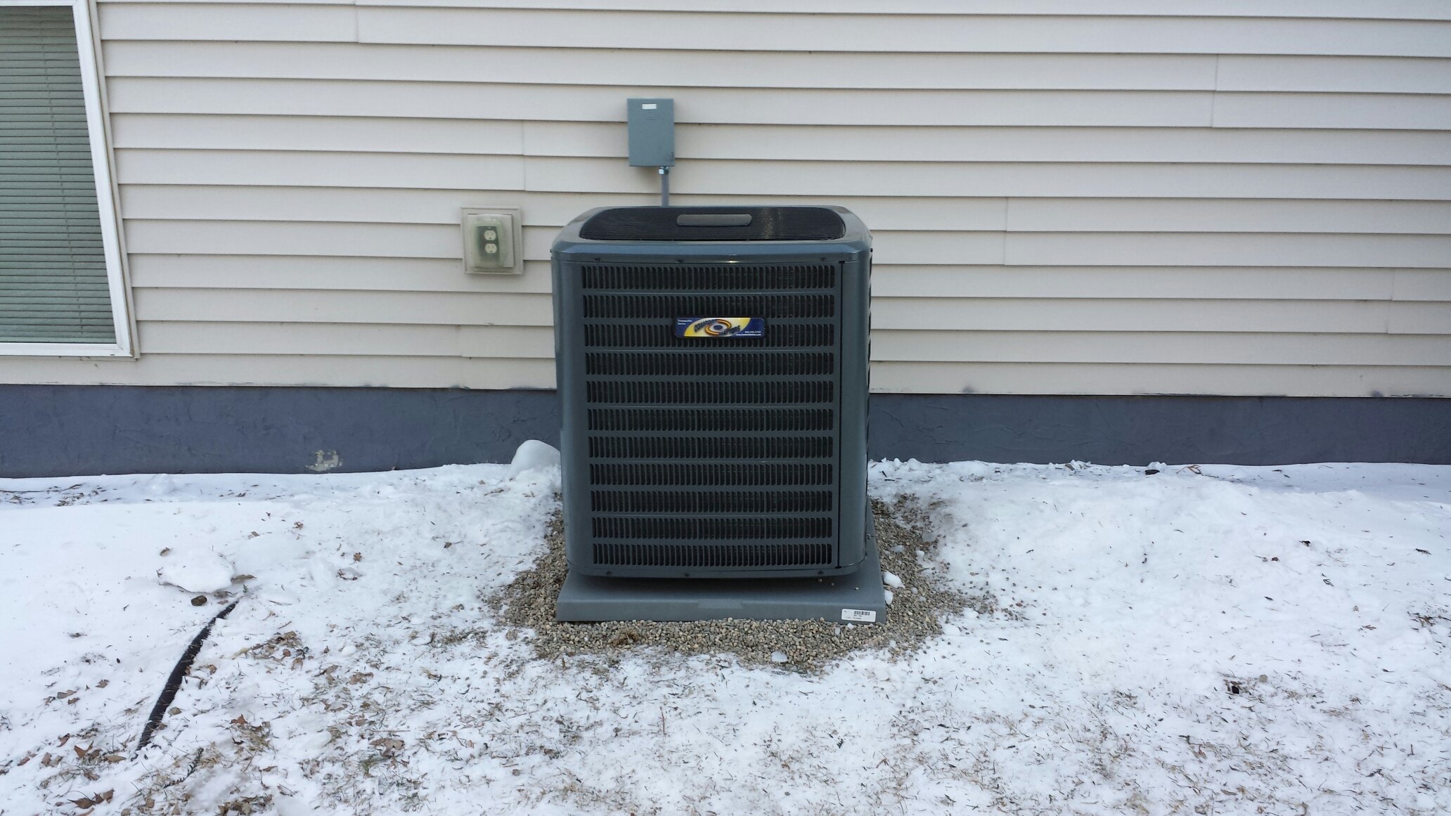 Montrose, MN - Installed a new comfort matters hvac system