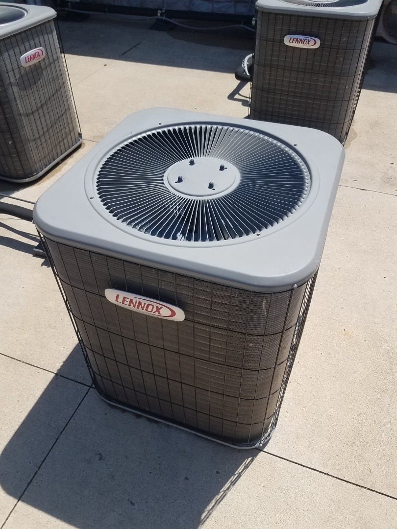 Edina, MN - Cooling maintenance. Performed repair on a Lennox AC