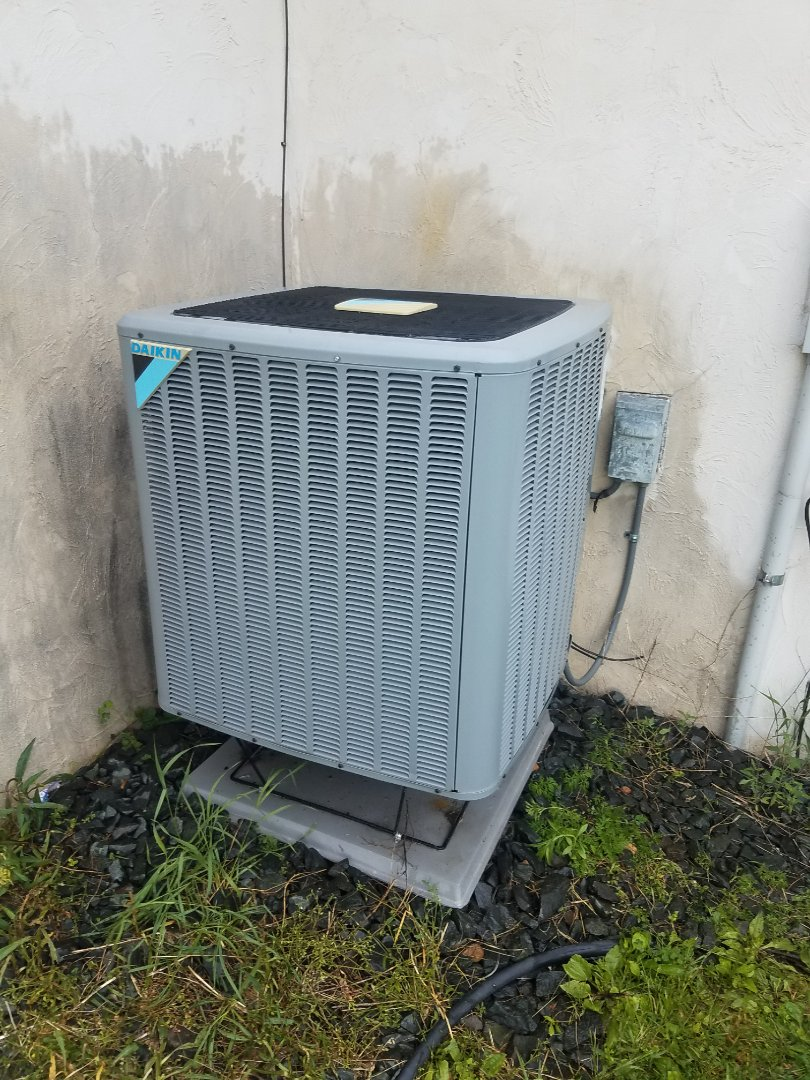 Maple Plain, MN - Cooling maintenance. performed tune up and cleaning on a Daikin AC
