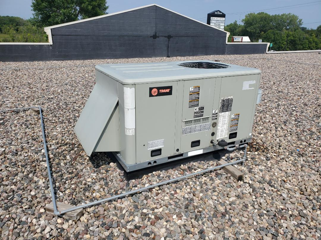 Hanover, MN - Commercial RTU service. Performed a refrigerant repair on a Trane RTU.