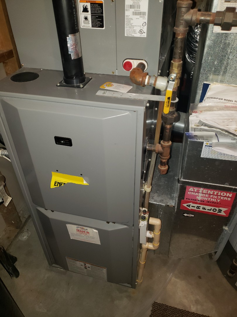 Saint Michael, MN - Furnace maintenance.  Diagnosed a Heil Furnace.