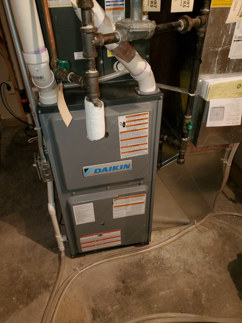 Elk River, MN - Furnace tune up on a Daikin. Humidifiers tube up. And erv tune up.