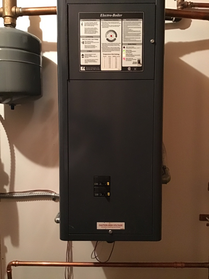 Eden Prairie, MN - I replaced three failed relays on a electric boiler