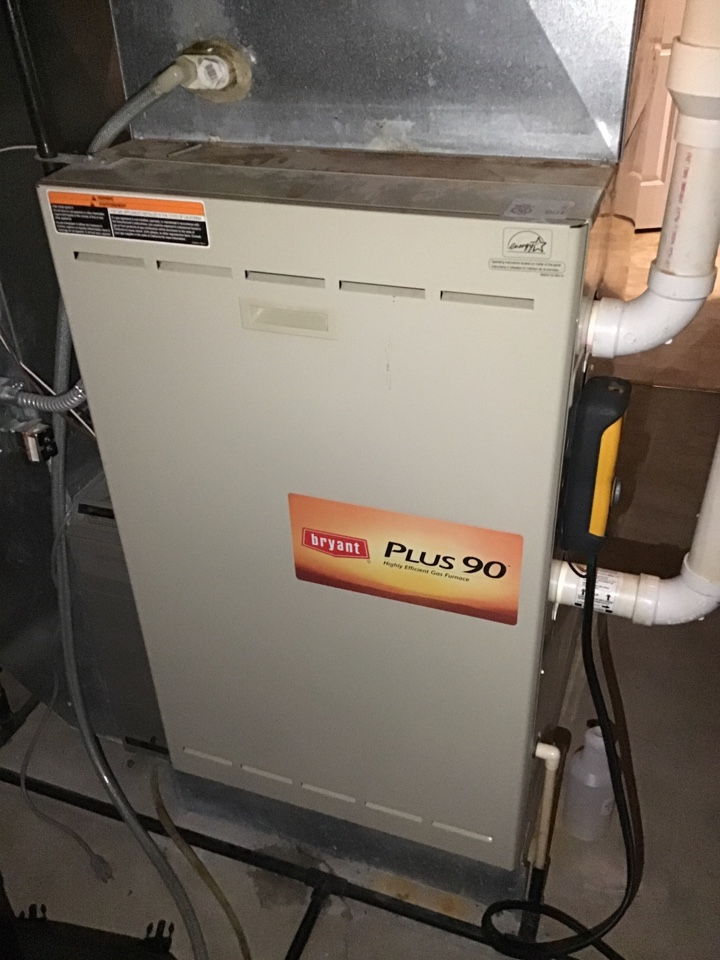 Medina, MN - I diagnosed a failed heat exchanger on a Bryant furnace
