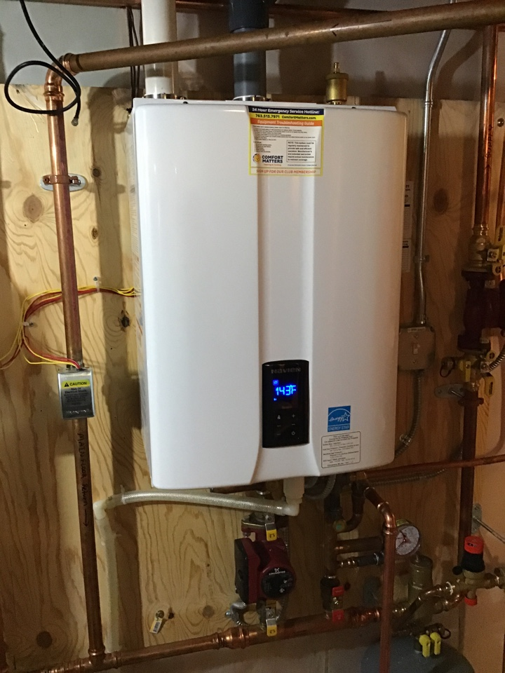 Monticello, MN - I performed a precision tuneup on a high efficient Navien tankless water heater