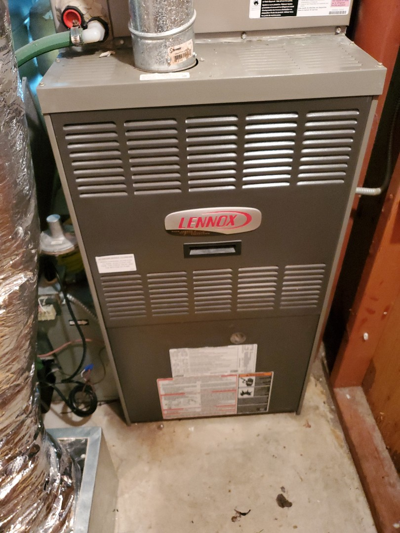 Minnetonka, MN - Furnace tune up and blower wheel cleaning on a Lennox furnace