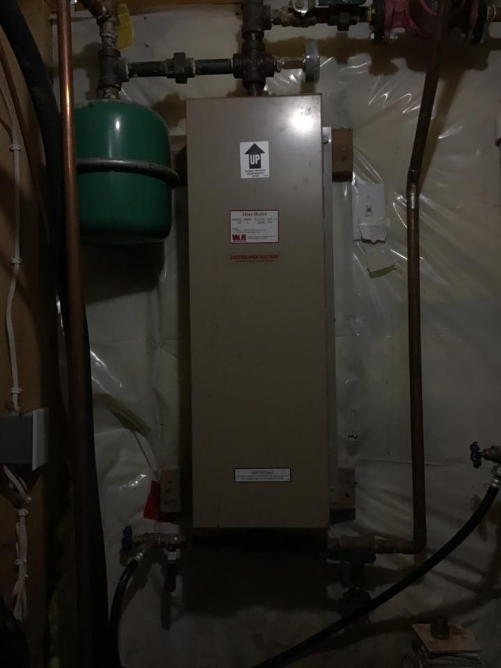 Rockford, MN - I diagnosed a failed control board on an Electro industries boiler