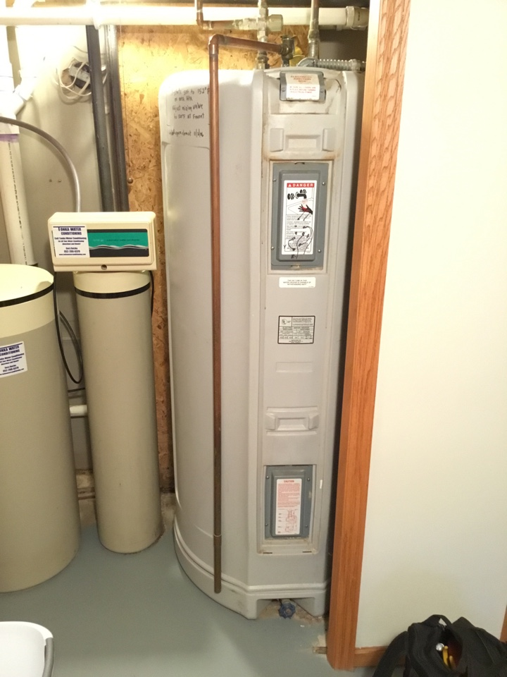 Medina, MN - Diagnosed issue with Marathon water heater not heating up water.